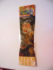 Tattoo Sleeve Colorful Tiger & Devils Face Halloween Costume Adults & Kids
