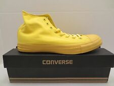 CONVERSE ALL STAR CT HI SPRAY PAINT 152700C AURORA YELLOW Men sneaker size 11