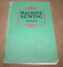 Antique Vintage Singer Machine Sewing Book 1938