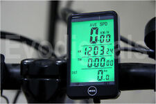 NUOVO evorider Wireless Bicicletta Ciclo Bici Computer Speedo Tachimetro + TOUCH!