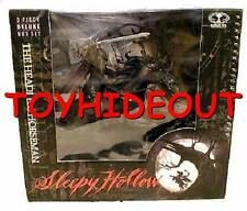 MCFARLANE SLEEPY HOLLOW THE HEADLESS HORSEMAN ACTION FIGURE BOXSET WITH HORSE