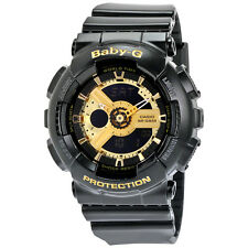 Casio Baby G Black Resin Ladies Watch BA110-1A