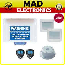 Watchguard Wireless DIY UP TO 8 Zone KIT Home or Office Alarm System WGUARD