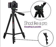 "50"" Pro AGFAPHOTO Tripod With Case For Canon Vixia HF R400 R300"