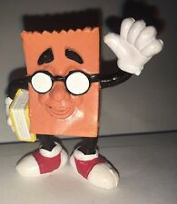 Vintage SONIC Brown Bag Toy Collectible Figure 1989