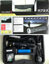 LED Lenser M7RX  M7R  X AKKU Taschenlampe Xtreme Power LED 8307-RX