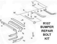 MERCEDES 107 SL SLC BUMPER BOLT REPAIR KIT - R107,500SL,280SL,300SL,450SL,380SL