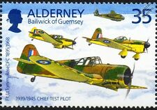 RAF MILES M.19 MASTER II Advanced Trainer & Miles Aircraft Stamp