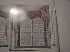 TIMBRE FRANCE NEUF bloc N° 11 1989 déclaration droits de l'homme vendu à faciale