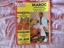 PARIS MATCH N°1217 02/09/1972 MARILYN MONROE JEUX OLYMPIQUES DE MUNICH  D94