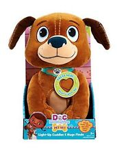 Disney Doc Mcstuffins Light Up Cuddles & Hugs Findo Plush Stuffed Animals