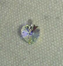 Con elemento de cristal de Swarovski del encanto del corazón en plata jumpring-Cristal AB