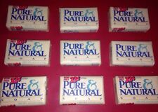 Vintage PURE & NATURAL Bar Soap Amour Dial Discontinued Lot of 9