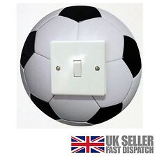 Football Light Switch Surround Sticker Cover Vinyl Childrens Wall Skin Kids