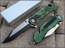 "TACFORCE SPRING ASSISTED SCORPION DESIGN KNIFE W/ BOOT/POCKET CLIP - 4.5"" CLOSED"