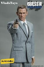 BlackBox Toys 1/6 James Bond Daniel Craig 007 Spectre grey Suit BB-9002B USA