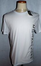 MICHAEL KORS DESIGNER GRAPHIC T-SHIRT**MEDIUM**FASHION WHITE**SALE PRICE