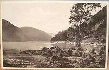 Irish Postcard The LOWER LAKE - GLENDALOUGH County Wicklow Ireland Val Carbotone