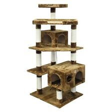 Go Pet Club GoPetClub Cat Tree Condo Scratcher Post Pet Bed Furniture F2021 NEW