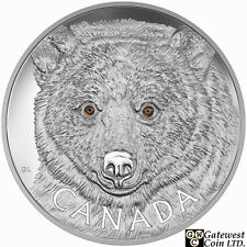 2016 Kilo 'In The Eyes of the Spirit Bear' $250 Silver Coin .9999 Fine (17572)