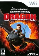 HOW TO TRAIN YOUR DRAGON  --  Nintendo Wii Game  ***Guaranteed***