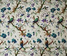 Decorative Floral Print Cotton Fabric Dressmaking Sewing Crafting By 1 Yard