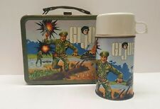 Vintage GI Joe 1967 Thermos Hassenfeld Bros metal lunch kit