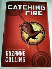 Catching Fire Suzanne Collins The Hunger Games Trilogy Novel Second Hardback
