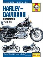 Harley-Davidson Sportster  Repair Manual 70-10 NEW Owners Book Shop Service