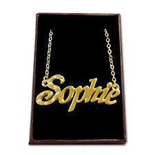 Gold Plated Name Necklace - SOPHIE - Gift Ideas For Her - Engagement Stylish