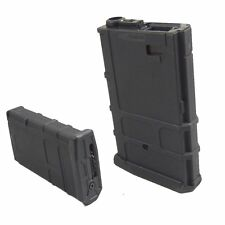 AIRSOFT X1 short Hi-Cap Magazine pmag Black Polymer P/Mag Battleaxe Magpul style