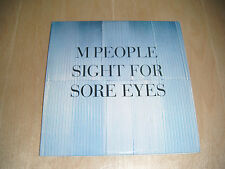 M People - Sight For Sore Eyes CD single card sleeve
