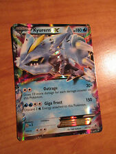 NM Pokemon KYUREM EX Card PLASMA BLAST Set 30/101 Black and/&White BW TCG Rare