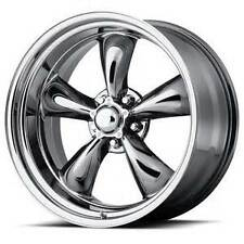 16X7 AMERICAN RACING TORQ THRUST II 2 PVD CHROME ALUMINUM WHEEL 5X4.5 VN8156765