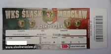Ticket SLASK WROCLAW - CLUB BRUGGE 2013/14 Europa League Poland Belgium België