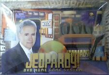 Jeopardy DVD Home Game System Alex Trebek Wireless Sealed NEW!