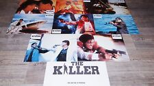 john woo  THE KILLER ! chow yun-fat  jeu photos cinema lobby card