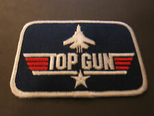 TOP GUN BADGE EMBRODIERY TOM CRUISE MCGILLIS KILMER NAVAL FLYING MIGs NAVY FLYER