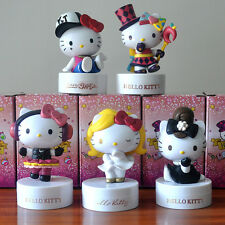 Fashion Hello Kitty PVC Figure 5pcs/Lot 40 Anniversary Of Our Adorable Doll Gift