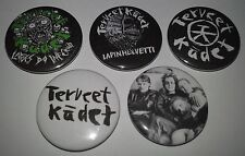 5 Terveet Kadet badges 25mm Choking Victim Hardcore punk Lapinhelvetti