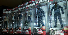 McFARLANE THE WALKING DEAD ACTION FIGURE SERIES 4 SET (6) RICK EXCLUSIVE, CARL..