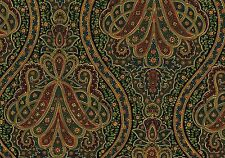 Richloom Fabric Red Gray Green Blue Gold  Drapery Upholstery By the Yard