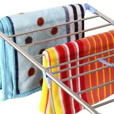 Clothes Rack Drying Laundry Folding Hanger Dryer Indoor Foldable Household