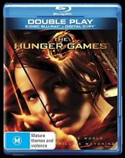 The Hunger Games NEW B Region Blu Ray