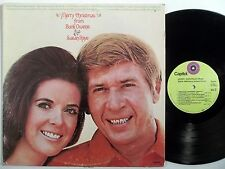 BUCK OWENS & SUSAN RAYE Merry Christmas From CAPITOL LP xmas country