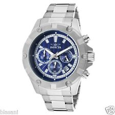 Invicta 15603 Specialty Men's Stainless Steel Blue Dial 46mm Watch Chronograph