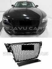 RS4 Front grill Audi A4 B8 8K RS look DTM honeycomb high-gloss black 2007-2012