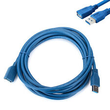 USB 3.0 A Male Plug To Female Socket 3m/10ft Super Fast Extension Cable Cord