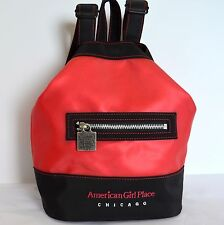 American Girls Place Backpack Chicago Red Black Travel School Bag Purse Duffle