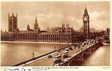 bg24447 houses of parliament showing big ben bus london uk   PCA
